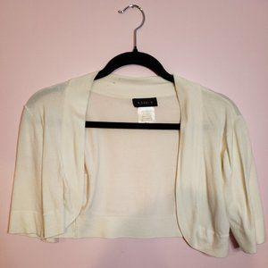 White Short Sleeved Shawl 🎉